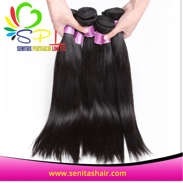 100% HOT SALES BRAZILIAN VIRGIN HAIR - STRAIGHT - Senita Hair Extension Houston