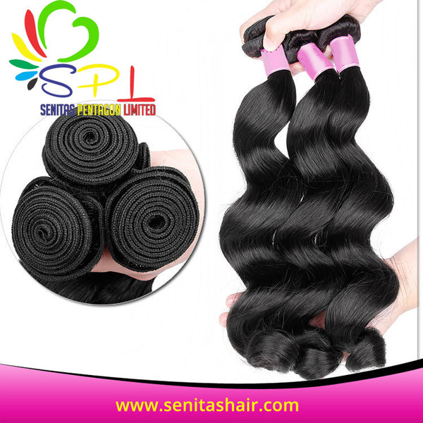 100% BEST SELLER BRAZILIAN VIRGIN HAIR - BODYWAVE - Senita Hair Extension Houston