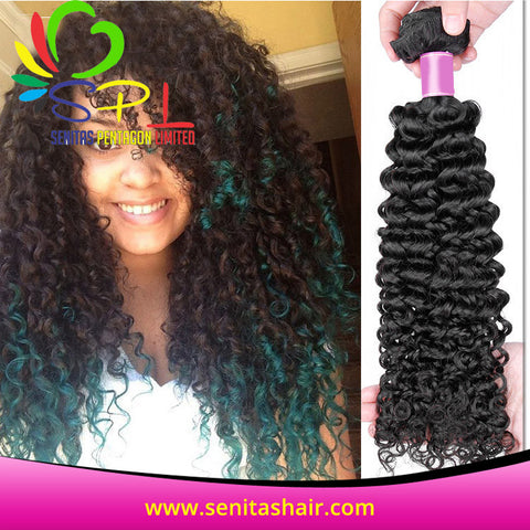 100% DEEPWAVE BRAZILIAN VIRGIN HAIR - Senitas Virgin Hair Extension and Wigs