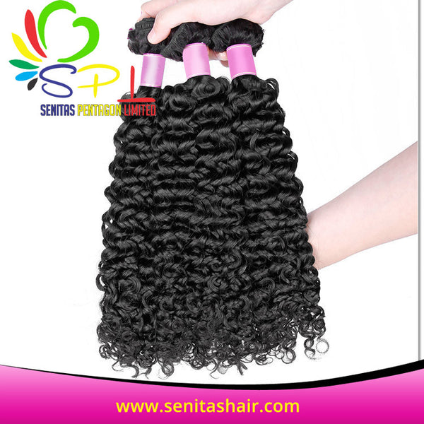 100%  BRAZILIAN DEEPWAVE VIRGIN HAIR - Senitas Virgin Hair Extension and Wigs