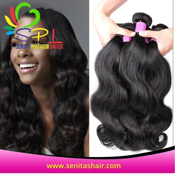 BODYWAVE VIRGIN PERUVIAN HAIR - Senita Hair Extension Houston