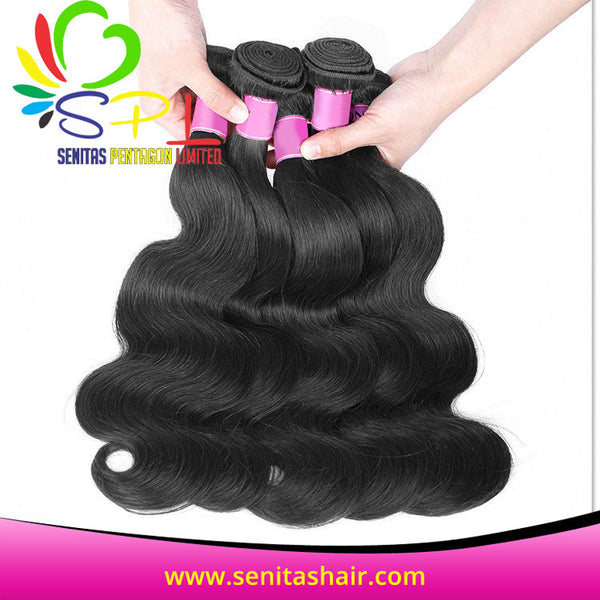 100% PERUVIAN BODYWAVE HAIR - Senita Hair Extension Houston