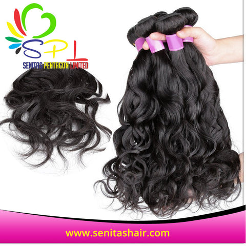 VIRGIN NATURAL WAVE PERUVIAN HAIR - Senitas Virgin Hair Extension and Wigs
