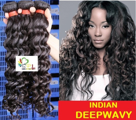 100% SENITAS INDIAN DEEPWAVY HAIR - Senita Hair Extension Houston