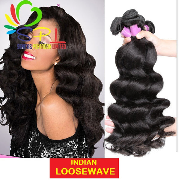 100% SENITAS INDIAN LOOSEWAVE HAIR - Senita Hair Extension Houston