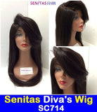 SENITAS DIVA'S WIG SC714:- CELEBRITY FULL LACE WIG - HOT SALE - Senitas Virgin Hair Extension and Wigs
