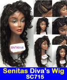 SENITAS DIVA'S WIG SC715:- CELEBRITY FULL LACE WIG - HOT SALE - Senitas Virgin Hair Extension and Wigs