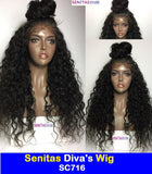 SENITAS DIVA'S WIG SC716:- CELEBRITY FULL LACE WIG - 100% VIRGIN HAIR - Senitas Virgin Hair Extension and Wigs