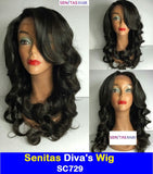 SENITAS DIVA'S WIG SC729:- CELEBRITY FULL LACE WIG - 100% VIRGIN HAIR