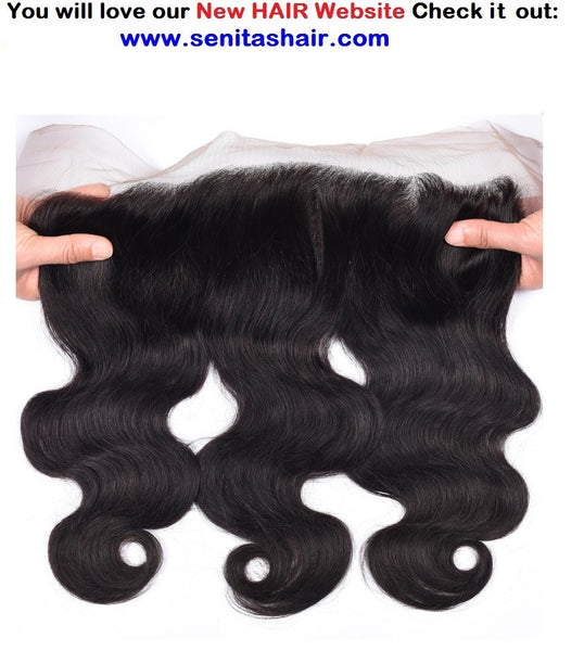 FRONTAL LACE CLOSURE 13*4 - Senitas Virgin Hair Extension and Wigs