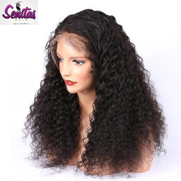 Senitas Full Lace Wig Deep Curly - HOT SALE - Senitas Virgin Hair Extension and Wigs