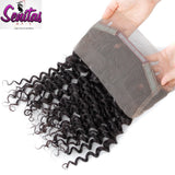 360 Lace Frontal - Deep Wave 100% Virgin Lace Frontal Human Hair - Senitas Virgin Hair Extension and Wigs