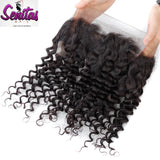 360 Lace Frontal - Pre Plucked Deep Wave Closure - Senitas Virgin Hair Extension and Wigs