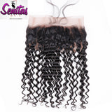 360 Lace Frontal - Deep Wave Curly 100% Virgin Lace Frontal Human Hair