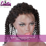 360 Lace Frontal - Kinky Curly 100% Unprocessed Virgin Human Hair - HOT SALE