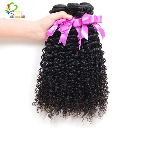 HOT SALE BRAZILIAN KINKY CURLS - HUMAN HAIR WEAVES