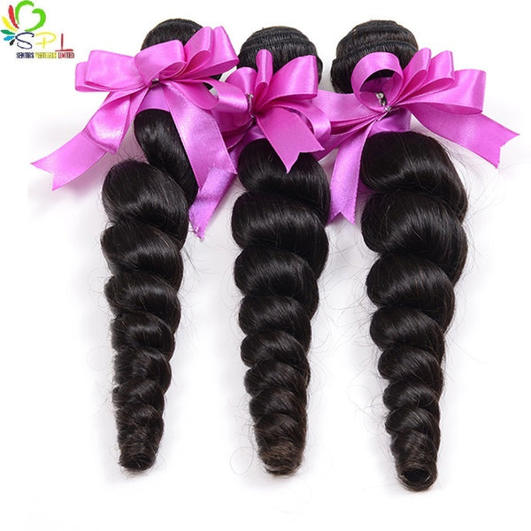 REMY BRAZILIAN LOOSEWAVE - HUMAN HAIR EXTENSIONS