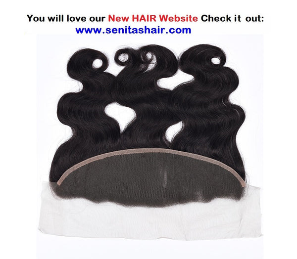 HOT SALE BRAZILIAN FRONTAL LACE CLOSURE 13*4 - BODYWAVE