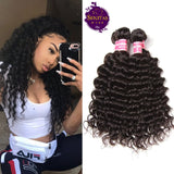 Brazilian Deep Wave 3 Bundles. 100% Virgin Remy Human Hair Weaves... Senitas Hair - Senitas Virgin Hair Extension and Wigs