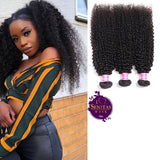 Brazilian Best Seller Kinky Curls 3 Bundles. 100% Virgin Unprocessed Human Hair Weaves... Senitas Hair - Senitas Virgin Hair Extension and Wigs