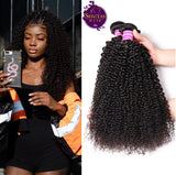 Brazilian Hot Sales Kinky Curls 3 Bundles. 100% Virgin Unprocessed Human Hair Weaves... Senitas Hair