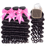 100% RAW VIRGIN HAIR - DEEP WAVE - Senitas Virgin Hair Extension and Wigs
