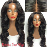 SENITAS PREMIUM BODYWAVE FULL LACE GLUE LESS WIG - Senitas Virgin Hair Extension and Wigs