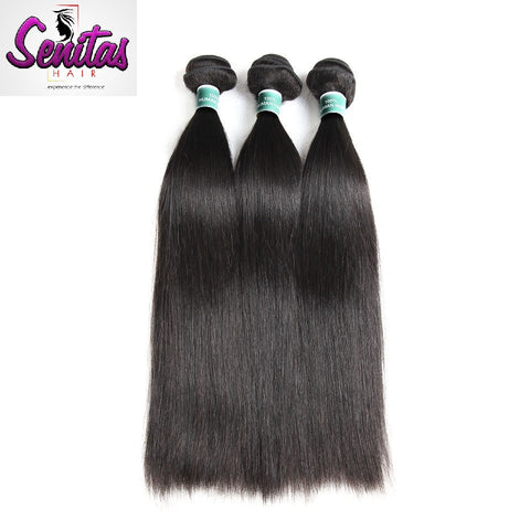 Indian Best Seller Straight 3 Bundles. 100% Virgin Unprocessed Human Hair Weaves... Senitas Hair