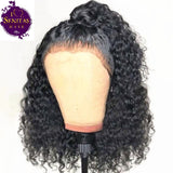 Full Lace Wig Jerry Curls Virgin Human Hair Wig on Sale 180% Density