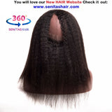 360 Lace Frontal - Kinky Straight