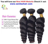 HOT SALE 100% PERUVIAN HAIR LOOSEWAVE - UNPROCESSED VIRGIN HAIR EXTENSION - Senitas Virgin Hair Extension and Wigs