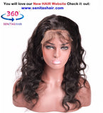 360 Lace Frontal Remy Hair - Body wave