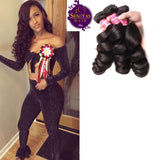 Brazilian Loose Wave 3 Bundles. 100% Virgin Remy Human Hair Weaves... Senitas Hair - Senitas Virgin Hair Extension and Wigs