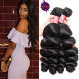 Brazilian Loose Wave 3 Bundles. 100% Virgin Unprocessed Human Hair Weaves... Senitas Hair