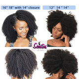 MONGOLIAN AFRO KINKY CURLY REMY HAIR - HOT SALES -100% Human Hair Extension.
