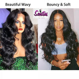 100% MAGIC NATURAL WAVY UNPROCESSED HUMAN REMY VIRGIN HAIR