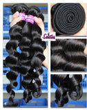 BEST HOT SELLER- NATURAL WAVY HUMAN VIRGIN HAIR - UNPROCESSED. - Senitas Virgin Hair Extension and Wigs