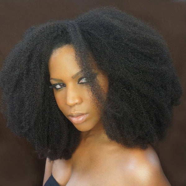 HOT SALE BRAZILIAN AFRO KINKY STRAIGHT HAIR - UNPROCESSED HAIR WEAVE