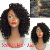 SENITAS PREMIUM DEEPWAVE FULL LACE GLUE LESS WIG
