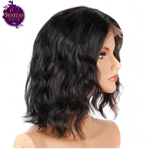 Wig Body Wave Short Wig - Senitas Virgin Hair Extension and Wigs