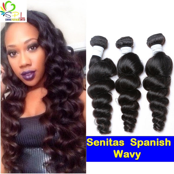 Spanish Wavy - Senitas Virgin Hair Extension and Wigs