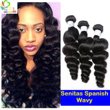 Spanish Unprocessed Wavy - Senitas Virgin Hair Extension and Wigs