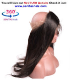 360 Lace Frontal - Virgin Bone Straight - Senitas Virgin Hair Extension and Wigs