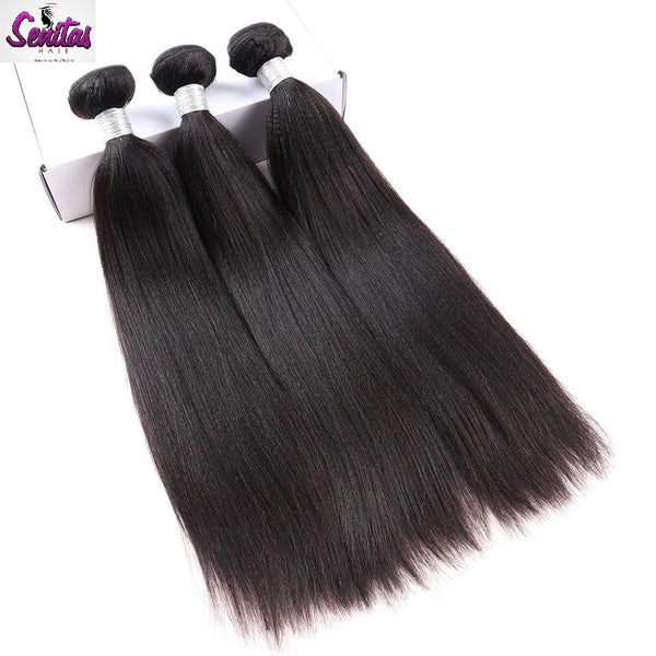HOT SALE- YAKI STRAIGHT VIRGIN HAIR - Senitas Virgin Hair Extension and Wigs