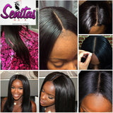 TOP CLOSURE - UNPROCESSED BONE STRAIGHT  - 100% VIRGIN LACE CLOSURE