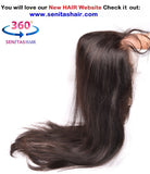 360 Lace Frontal - Straight - Senitas Virgin Hair Extension and Wigs