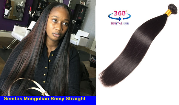 NEW ARRIVAL MONGOLIAN REMY STRAIGHT - Senitas Virgin Hair Extension and Wigs