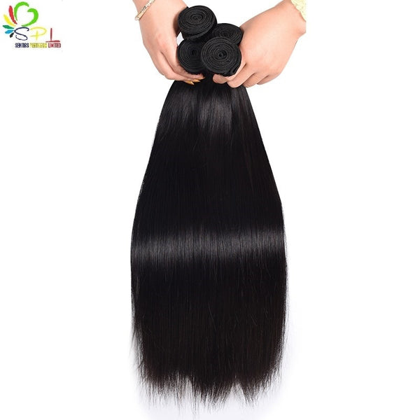 100% PERUVIAN HAIR PERFECT STRAIGHT - UNPROCESSED VIRGIN HAIR WEAVE - Senitas Virgin Hair Extension and Wigs