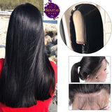 Front Lace Wig Straight 100% Unprocessed Virgin Human Hair Wig on Sale 180% Density - Senitas Virgin Hair Extension and Wigs