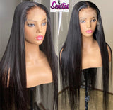 Handmade Customized Wig - Custom Unit - Middle Parting Straight